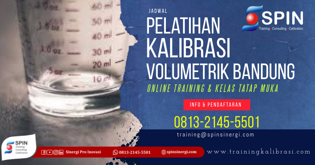 Jadwal Pelatihan Kalibrasi Volumetrik Bandung