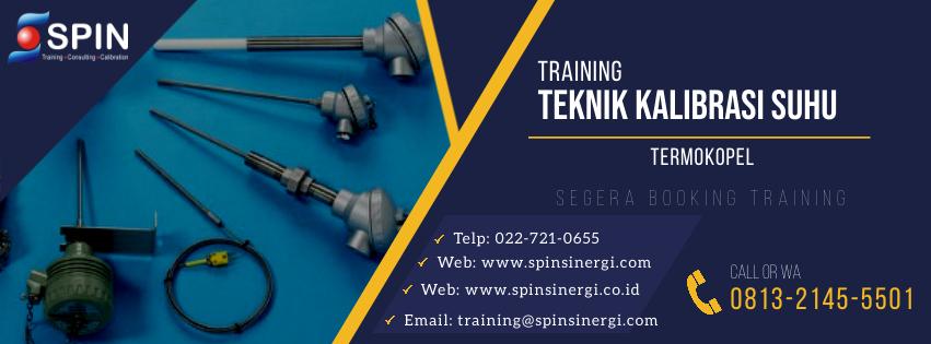 Training Teknik Kalibrasi Suhu TermokopelTraining Teknik Kalibrasi Suhu Termokopel