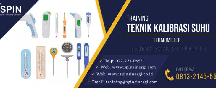 Training Teknik Kalibrasi Suhu Termometer