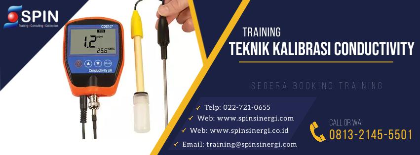 Training Kalibrasi Conductivity