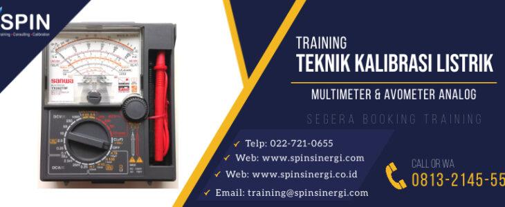 Training Kalibrasi Listrik Multimeter