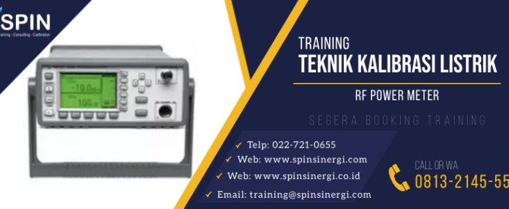 Training Kalibrasi Listrik RF Power Meter