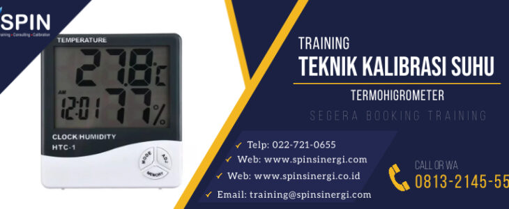 Training Teknik Kalibrasi Suhu Termohigrometer