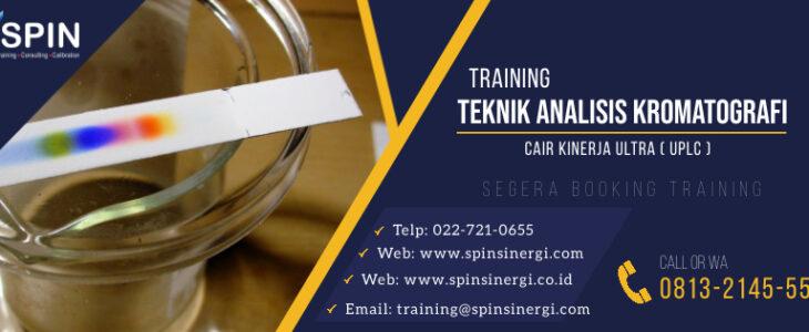 Training Teknik Analisis Kromatografi UPLC