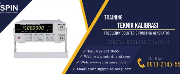 Training Kalibrasi Listrik Frequency Counter