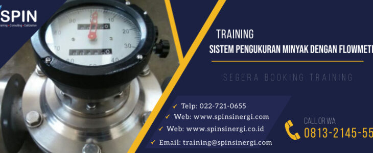Training Sistem Pengukuran Minyak dengan Flowmeter
