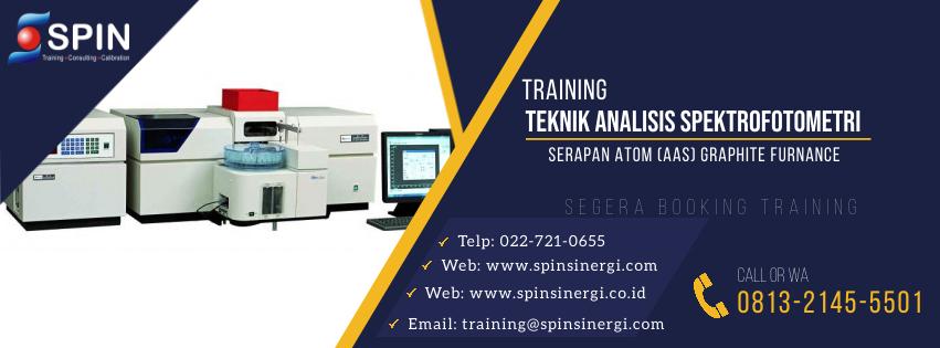 Training Teknik Analisis Spektrofotometri Serapan Atom AAS Ghrapite Furnance
