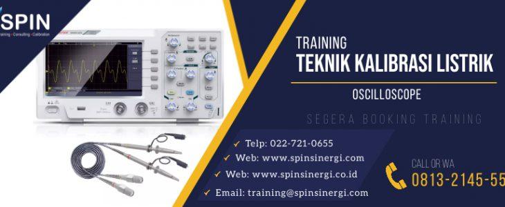 Training Teknik Kalibrasi Listrik Oscilloscope