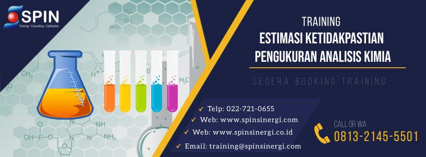 Training Estimasi Ketidakpasitan Pengukuran Analisis Kimia