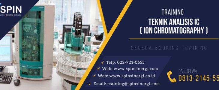 Training Teknik Analisis ion chromatography