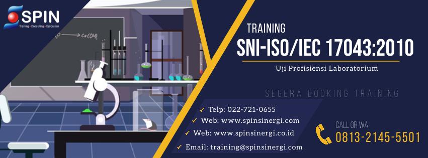 Training Dokumentasi Uji Profisiensi ISO 17043 2010